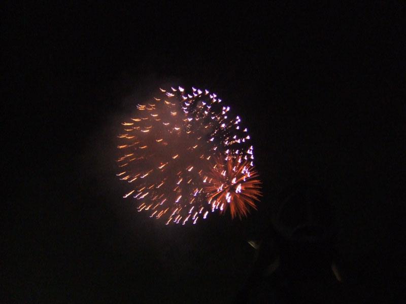 坂祝の花火