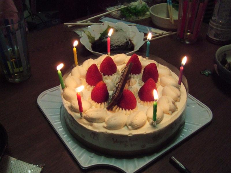 姪の誕生日
