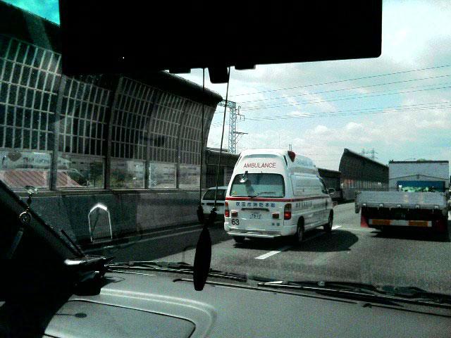 高速で事故