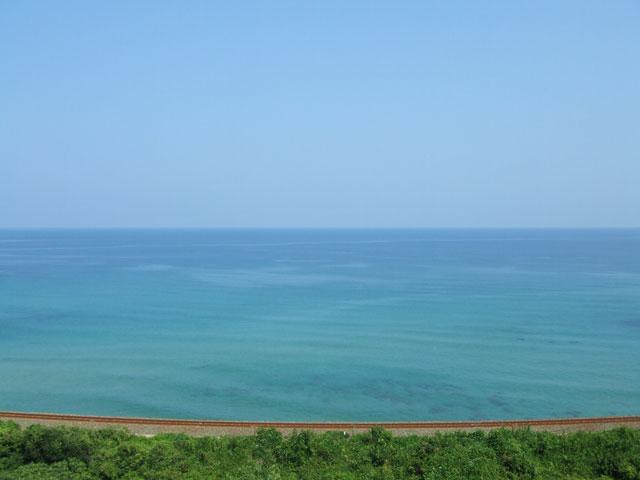 山陰の日本海