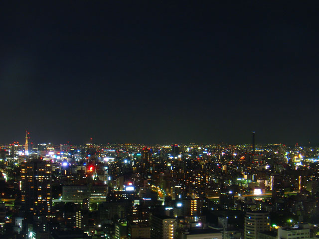 28階からの夜景