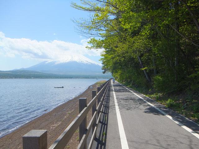山中湖ポタリング